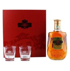 40°英国温莎12年调配苏格兰威士忌礼盒700ml