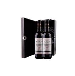 塔法古堡干红葡萄酒皮质双支礼盒