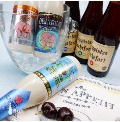 比利时进口罗斯福/粉象系列啤酒6瓶人气组合8号10号小粉象深粉象