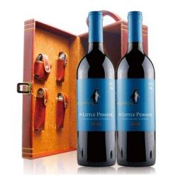 澳大利亚 原瓶进口 小企鹅梅洛红葡萄酒 750ml*双皮盒