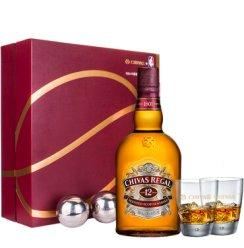 芝华士(Chivas)洋酒 12年 苏格兰 威士忌 700ml 礼盒装