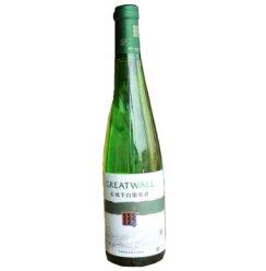 长城 干白葡萄酒 出口型.龙眼11.5度650ml .