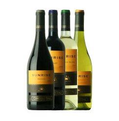 智利原瓶进口红酒 干露庄园旭日系列四瓶组合干红葡萄酒 750ml×4