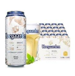 《【苏宁自营】福佳(Hoegaarden)精酿白啤310ml*24听 91.6元(双重优惠)》