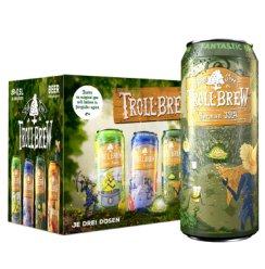 《【京东自营】艾斯宝(troll brew) 淡色艾尔IPA精酿500ml*8听 39元(双重优惠)》