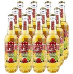 荷兰进口啤酒亡命之徒啤酒龙舌兰味啤酒Desperados 330mL*12瓶