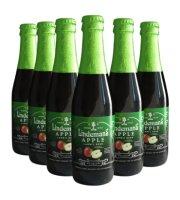 比利时进口啤酒 Lindemans林德曼苹果啤酒250ml*6瓶 果味啤酒