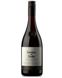 智利干露红魔鬼黑皮诺半干红葡萄酒