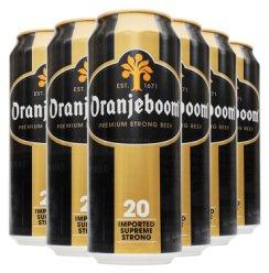 橙色炸弹强劲啤酒 德国进口高度啤酒 Oranjeboom 烈性啤酒500ml 6罐装20度