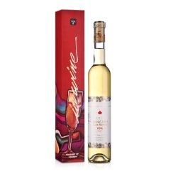 (清仓)加拿大史东妮精选晚收维达尔甜白葡萄酒375ml 礼盒装