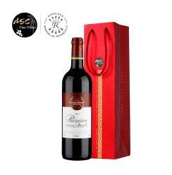 ASC 法国拉菲红酒 Lafite珍藏波尔多进口干红葡萄酒 750ml