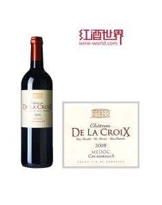 法国十字城堡干红葡萄酒
