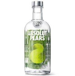绝对伏特加(Absolut Vodka)洋酒 苹果梨味 700ml