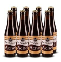 原装进口 比利时 修道院啤酒 Achel阿诗精酿啤酒  330ml 阿诗黑 修道院双料8支
