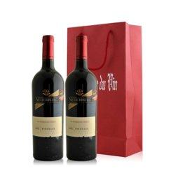 南非 尼德堡品乐红葡萄酒双支礼袋装