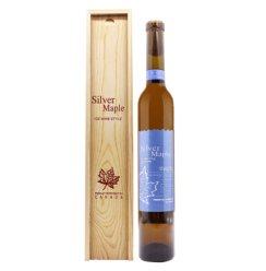 原酒产地 加拿大 银枫甜白 葡萄酒 木盒装375ml