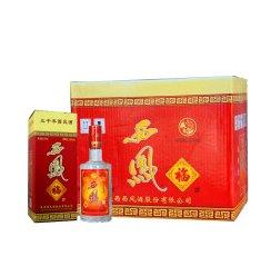 2010年产整箱6瓶50度 西凤福酒500MLX6瓶