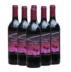 澳洲原瓶进口 紫夜穗乐仙干红葡萄酒 6支装(750ml*6)