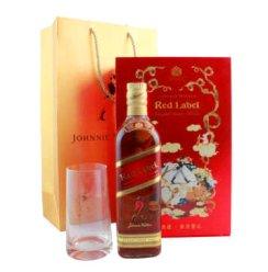 Johnnie Walker尊尼获加红方调配型苏格兰威士忌 700ml 礼盒装