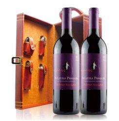 澳大利亚 原瓶进口 小企鹅赤霞珠葡萄酒 750ml*双皮盒