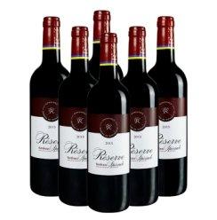 法国原瓶进口 DBR拉菲红酒 珍藏波尔多干红葡萄酒750ml*6 整箱