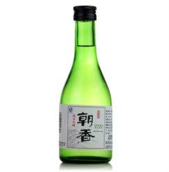 朝香 清酒 纯米吟酿清酒大吟酿清酒 纯米料理酒梅酒 草编酒 发酵 国产朝香纯米吟酿清酒300ml