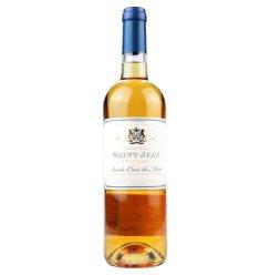 法国圣琪安城堡AOC级甜白葡萄酒圣克鲁瓦蒙产区原瓶进口12.5度赛美蓉长相思贵腐工艺酿造 单支装750ml