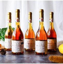 甜酒匈牙利托卡伊金线Tokaji Aszu甜女士葡萄酒5 6篓贵腐酒葡萄酒