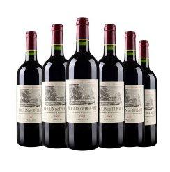 法国原装进口拉菲杜哈磨坊干红葡萄酒 6支装_