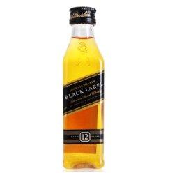 尊尼获加Johnnie Walker 黑牌小酒版 50ml 英国原产