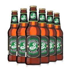 《【京东自营】布鲁克林(brooklyn)Lager精酿啤酒 355ml*6瓶 41.75元(双重优惠)》