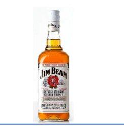 1919酒类直供 美国 威士忌 占边波本威士忌 750ml 黑白盖随机发