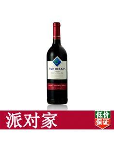 南非双洋加本力梅洛干红葡萄酒