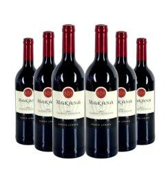 马卡拿干红葡萄酒 750ml 6瓶装 南非原瓶进口红
