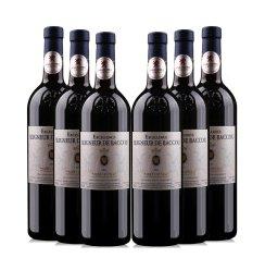 法国原瓶进口博库公爵干红里昂银奖品质葡萄酒分享装750ml*6