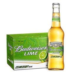 《【京东自营】百威(Budweiser)劲柠啤酒小瓶 330ml*24瓶  77元(需用券)》