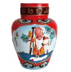 古越龙山 绍兴黄酒 工艺浮雕酒 十年陈 5KG 私人订制花雕酒