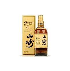SUNTORY 三得利 山崎12年 单一麦芽威士忌 700ml YAMAZAKI Single Malt Whisky