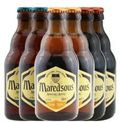 比利时原装进口马里斯啤酒 进口马里斯比利时啤酒 比利时马里斯啤酒 比利时马里斯 6度 8度 10度各330ml*2瓶 330ml