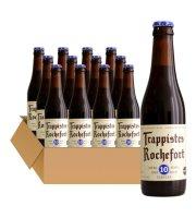 比利时进口啤酒 修道士啤酒 Rochefort罗斯福10号330ml*6精酿啤酒 罗斯福10号啤酒*12瓶
