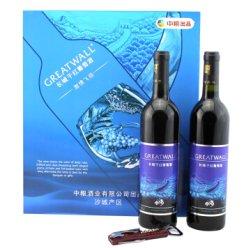 长城干红葡萄酒 激情飞扬礼盒 12.5度 750ml 赤霞珠 中粮出品