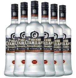 俄罗斯本色伏特加RUSSIAN STANDARD斯丹达伏特加 700ml 斯丹达六瓶