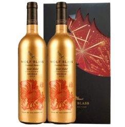 【澳洲进口】纷赋<原禾富>金标鸡年干红葡萄酒750ml  澳大利亚原装进口红酒 红葡萄酒 双支装-750ml