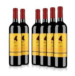 澳大利亚红酒整箱莱圣堡酒仙赤霞珠干红葡萄酒750ml(6瓶装)
