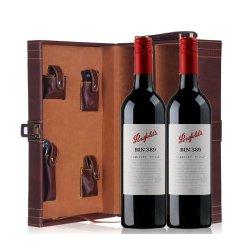 澳洲原瓶进口 奔富 389(旋盖) Bin389 红酒 葡萄酒 双皮盒750ml*2