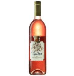 美国原瓶进口红酒 大礼帽白金粉黛桃红葡萄酒750ml