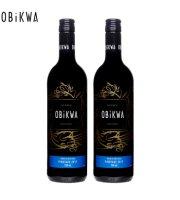 OBiKWA/奥卡瓦品乐塔吉红葡萄酒750ml*2瓶装南非进口