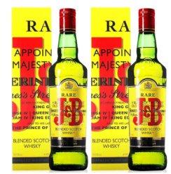 洋酒 英国进口J&B珍宝特选苏格兰威士忌 单瓶 双瓶