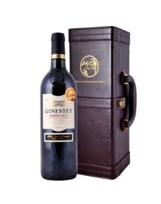 法国吉娜斯波尔多干红葡萄酒