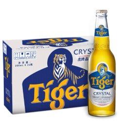虎牌啤酒(TIGER)喜力旗下晶纯 300ml*24瓶 整箱装